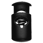 Barrel Cord Lock 648 - Black ABS